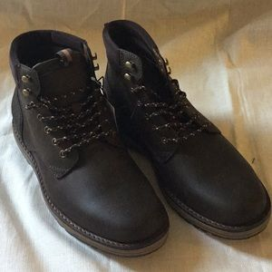 Good Fellow Men Boots Leather Size 8
